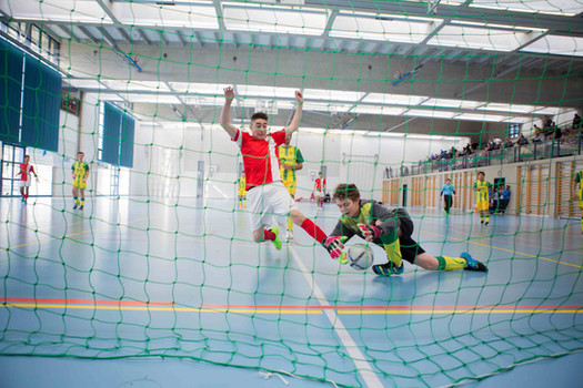Gland, Grand-Champ, 23e tournoi football indoor pour juniors FC Gland. Hernan Justiniano