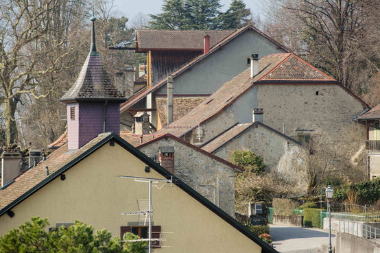 Roofs in Bugnaux