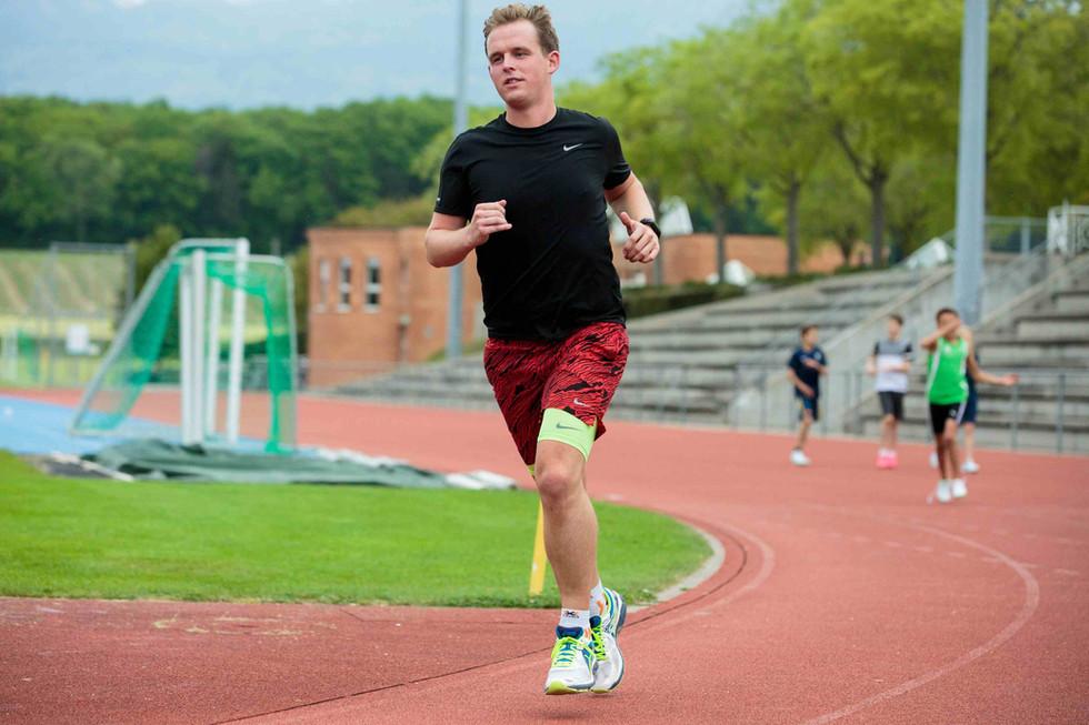 De l'hôpital au marathon de Copenhague, l'incroyable histoire de Quentin Vontobel