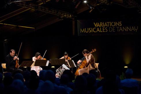 Concert Quatuor Terpsycordes & Camille Thomas