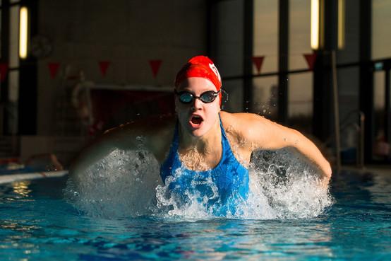 Malika Gobet, swimmer