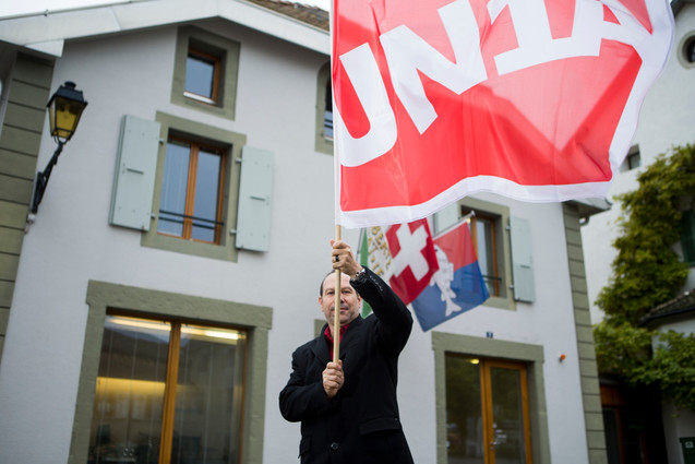 Yves Defferrard, UN1A trade unionist