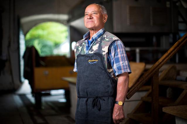 Toni Bernardo, winegrower