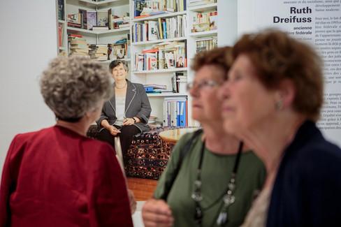 Vernissage of the Juifs de Suisse exhibition