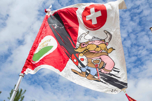 Fête du drapeau in Bassin