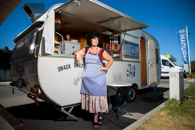 Cathy, Food Truck Owner