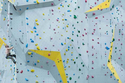 Rocspot climbing wall. Echandens