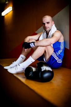 Besim Bega, boxer
