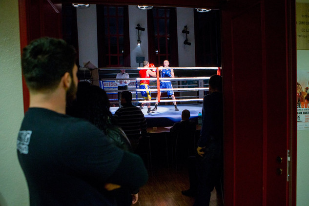 Arsen Papikyan (Red) VS Vincent Kees (Blue)