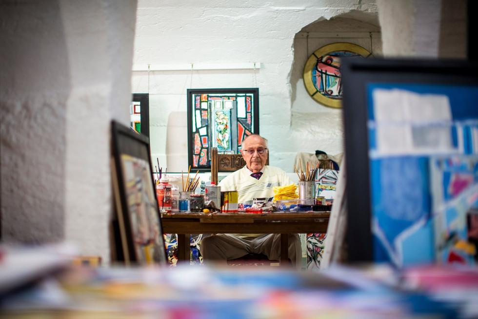 Boris Vansier, l'artiste entouré de femmes