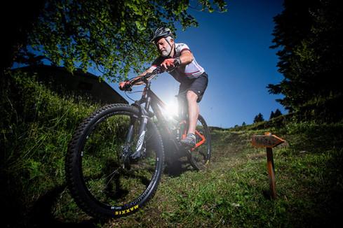 Sigi Haller, VTT Biker