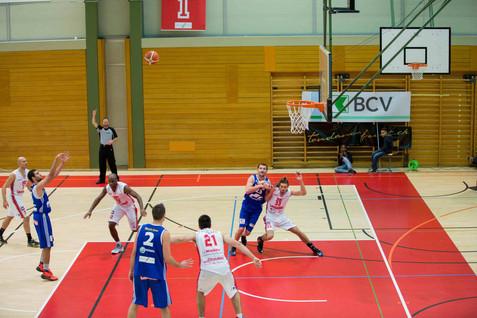 Lausanne, Vallée de la Jeunesse, Basketball, LNB, BBC Lausanne – BBC Nyon. Joel Wolfisberg (Nyon)
