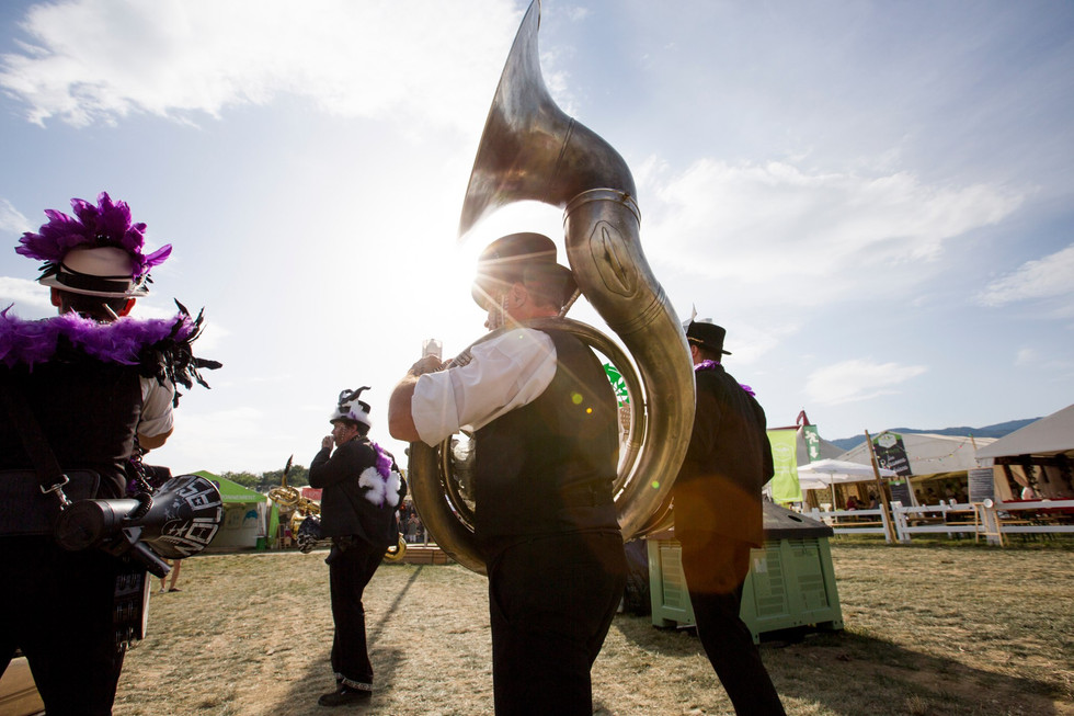 "Zygos Brass Band performing ""Trybz"""