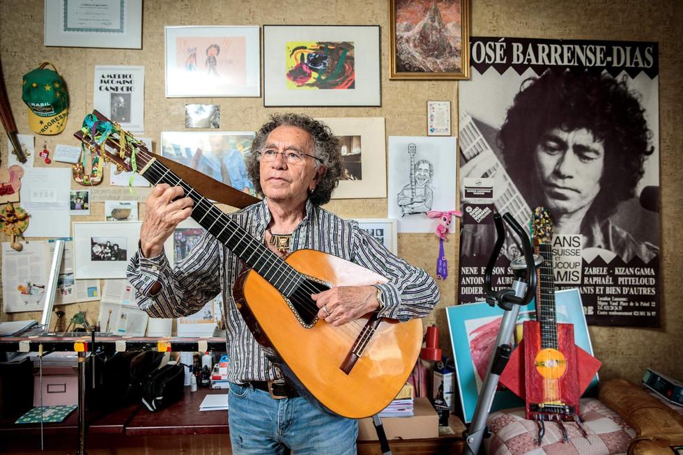 José Barrense-Dias, l'un des plus grands guitaristes brésiliens, célèbre un demi-siècle de vie à