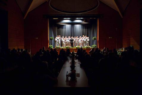 Choeur du Léman concert in Tannay