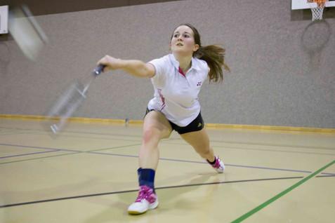 Morges, Salle du Petit-Dézaley, Badminton, BC Morges - Badminton Lausanne Association. Marla Fretz (Morges)