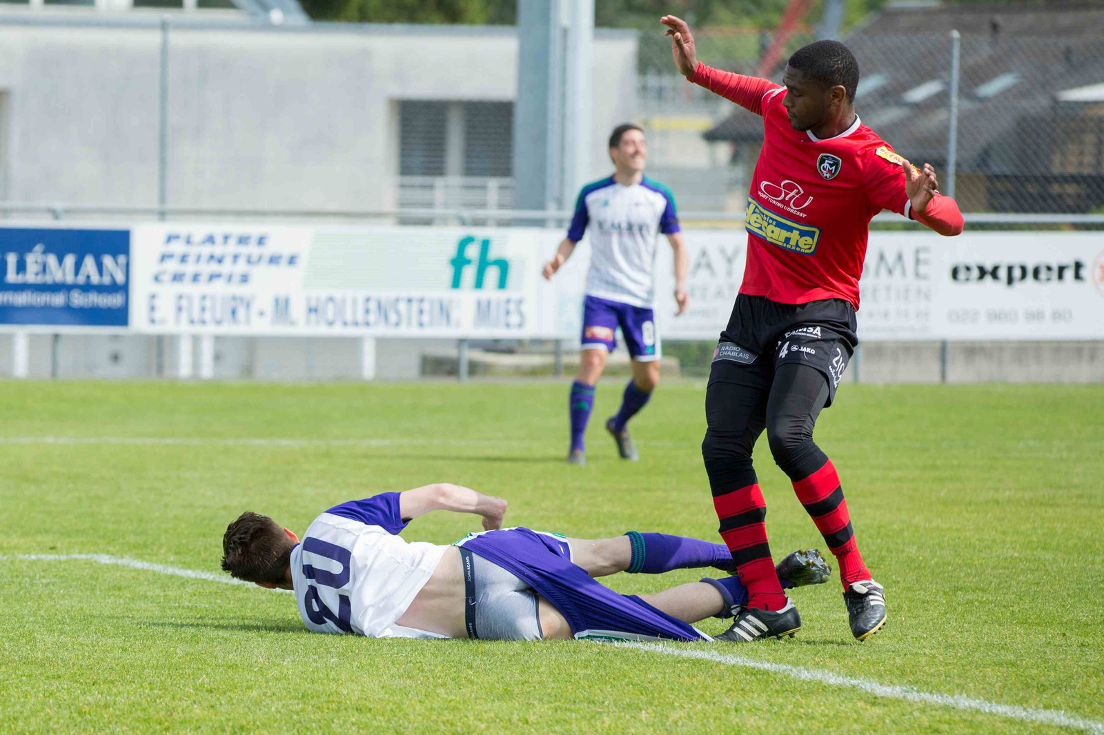 Coppet, Rojalets, Football, 1re ligue, US Terre Sainte - FC Monthey ...