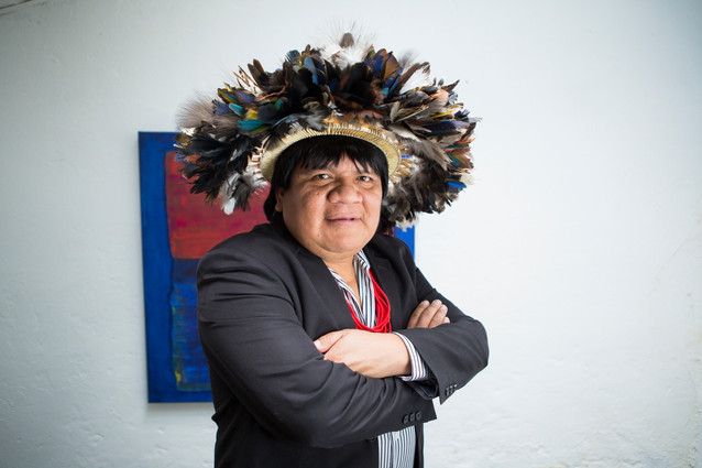 Almir Narayamoga Surui, amerindian