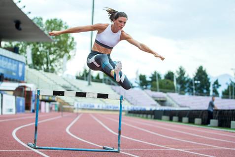 Lea Sprunger, athlete