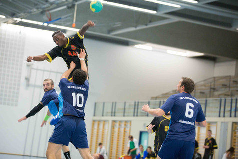 Gland, Grand-Champ, Handball, 2e ligue masculine, TCGG - SG Crissier-West II. Samuel Atangana (TCGG)
