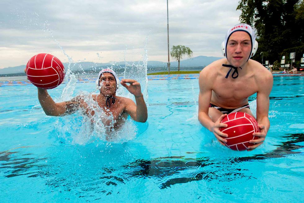 CN Nyon: Stéphane et Andrea Ferrer, quand le père et le fils jouent dans la même équipe