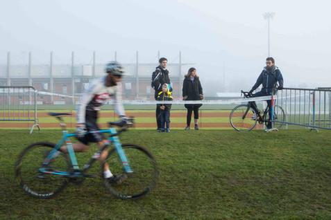 Nyon, cyclisme, Cyclo-cross National de Nyon catégorie Master. Joel Dumartheray