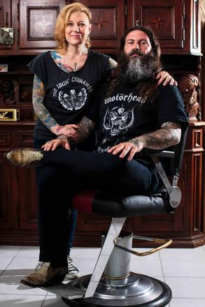 Marnie & Nico, tattoo artists