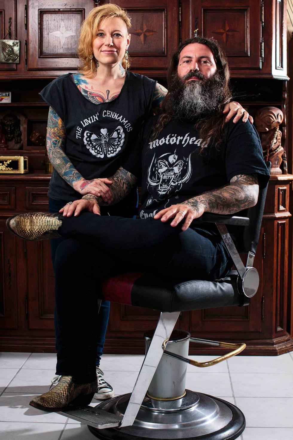 Morges: rencontre avec un couple de tatoueurs