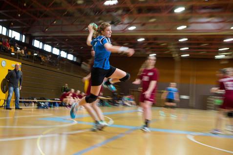 Morges, Beausobre, Handball, 2e ligue fémenine. HBC Etoy - Servette HBC. Aude Mermod (Etoy)
