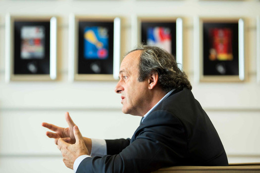 Michel Platini interview