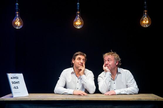 Benjamin Cuche & Jean-Luc Barbezat, actors