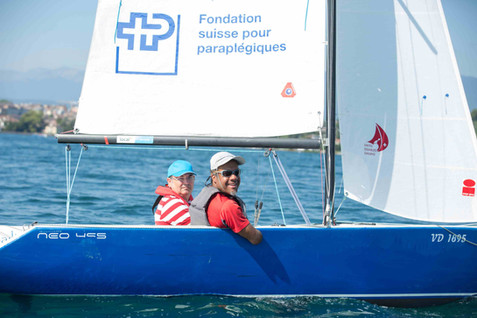 Régate Swiss Disabled Sailing, Prangins