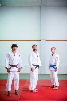 Dallemagne Family, judokas