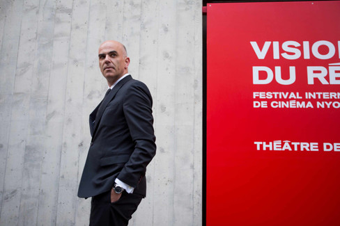 Alain Berset, member of the Swiss Federal Council at Visions du réel opening ceremony
