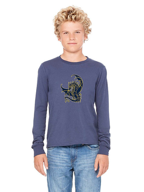 Youth Long Sleeve with GES Dragon