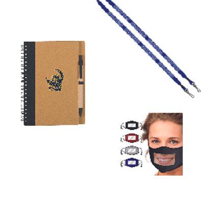 Faculty Appreciation Gift (Mask, Lanyard, Notebook)
