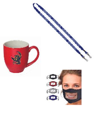 Faculty Appreciation Gift (Mask, Lanyard, Mug)