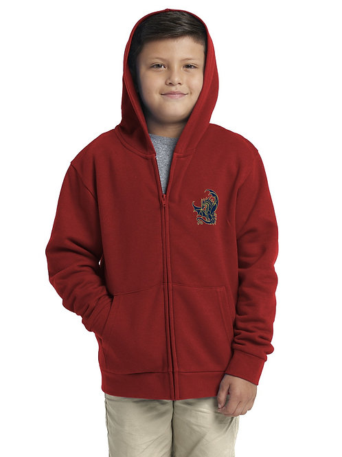 Youth Hoodie with GES Dragon