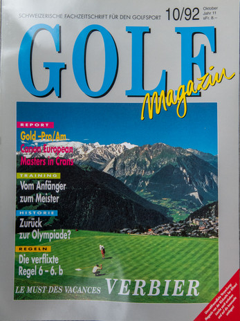 Golf Magazine CH 1992