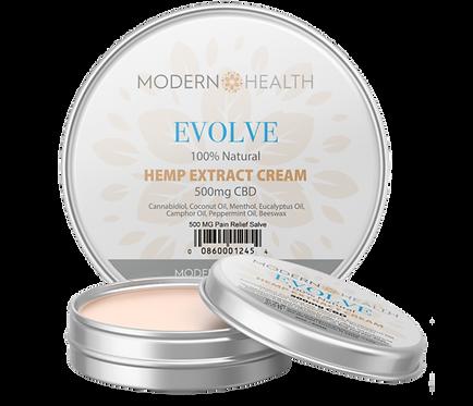 EVOLVE 100% Natural Hemp Extract Cream (Salve)