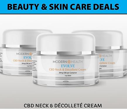 OFFER #3 | 20MG Neck & Décolleté | Buy 3 Skin Care Deals