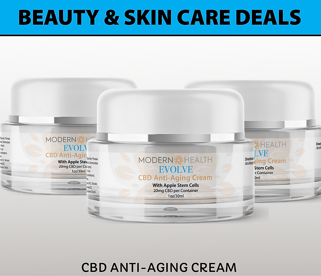 OFFER #2 | 20MG Anti-Aging Cream | Buy 3 Skin Care Deals