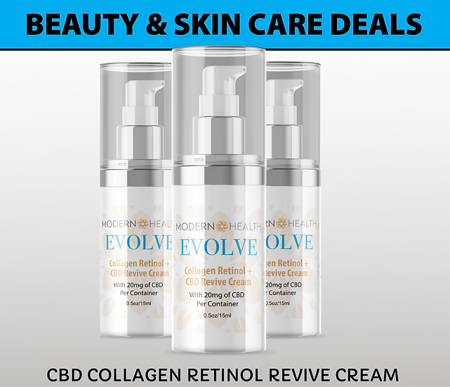 OFFER #1 | 20MG Revive Cream | Buy 3 Skin Care Deals