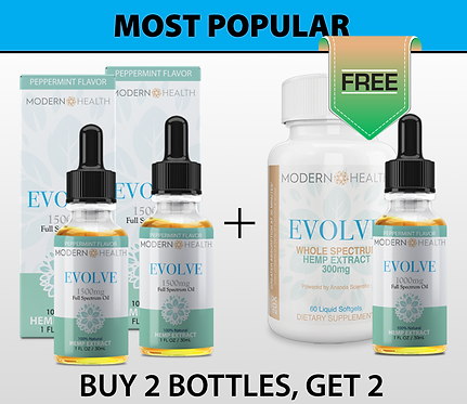 OFFER #2 | 1500MG Oil | Most Popular
