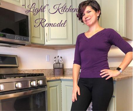 Light Kitchen Remodel