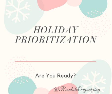 Holiday Prioritization