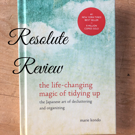 The Life-Changing Magic of Tidying Up Book Review
