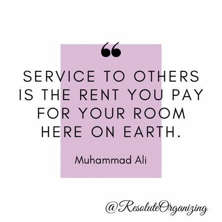 Organize to Serve