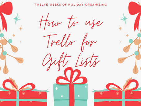 New Gift List Tool