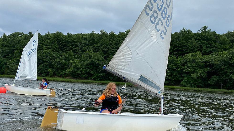 Fall Sailing: Optis